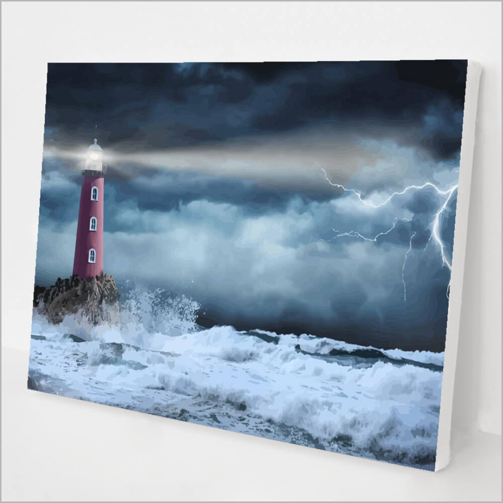 Stormy Lighthouse kit