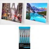 Best Sellers Bundle 3 (2 Paintings + 5 pcs Mini Detail Brush set)