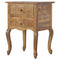 Lexi French Style 2 Drawer Bedside