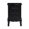 Antoinette 3 Drawer Chest Black