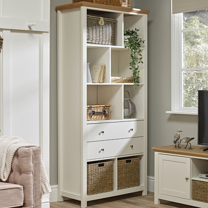 Costwold Bookcase Cream
