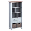 Costwold Bookcase Grey