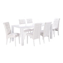 Monroe Puro Large Dining Table White