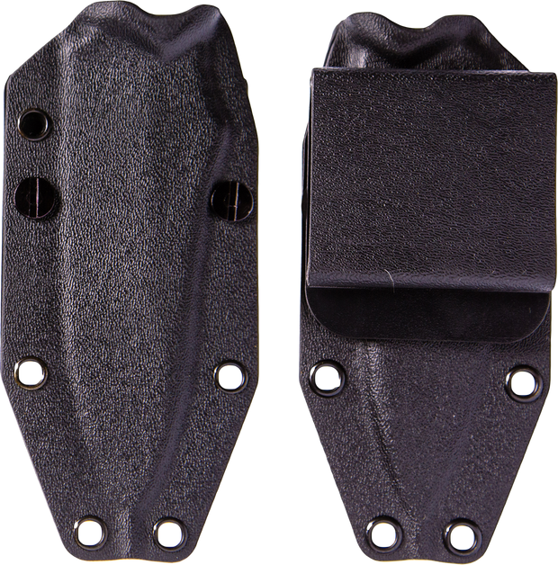 Jackal Kydex Sheath - Black - By Southern Grind