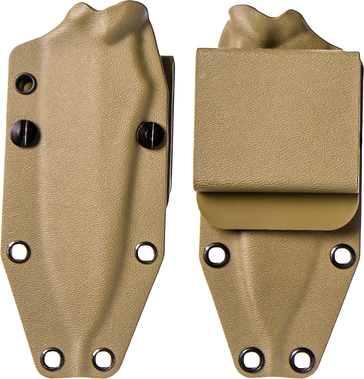 Jackal Kydex Sheath - Desert Tan - By Southern Grind