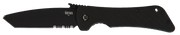 Bad Monkey Tanto Emerson Wave - Serrated - Black - By Southern Grind