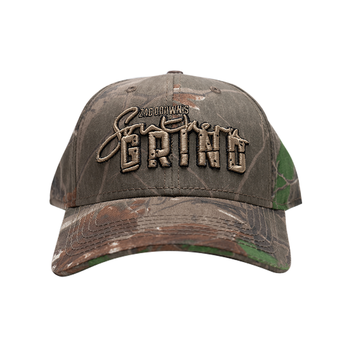 Tree Camouflage Southern Grind Logo Hat