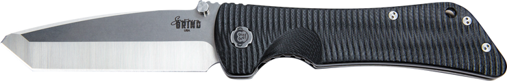 Bad Monkey Tanto - Satin - Black - By Southern Grind