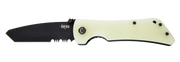 Bad Monkey Tanto - Black Serrated - Jade Ghost Green - By Southern Grind