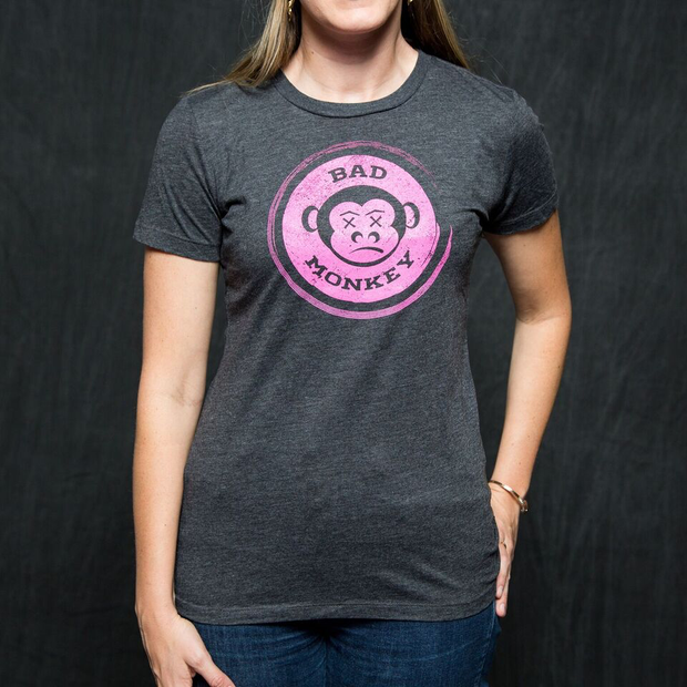 Women's Bad Monkey Logo Tee