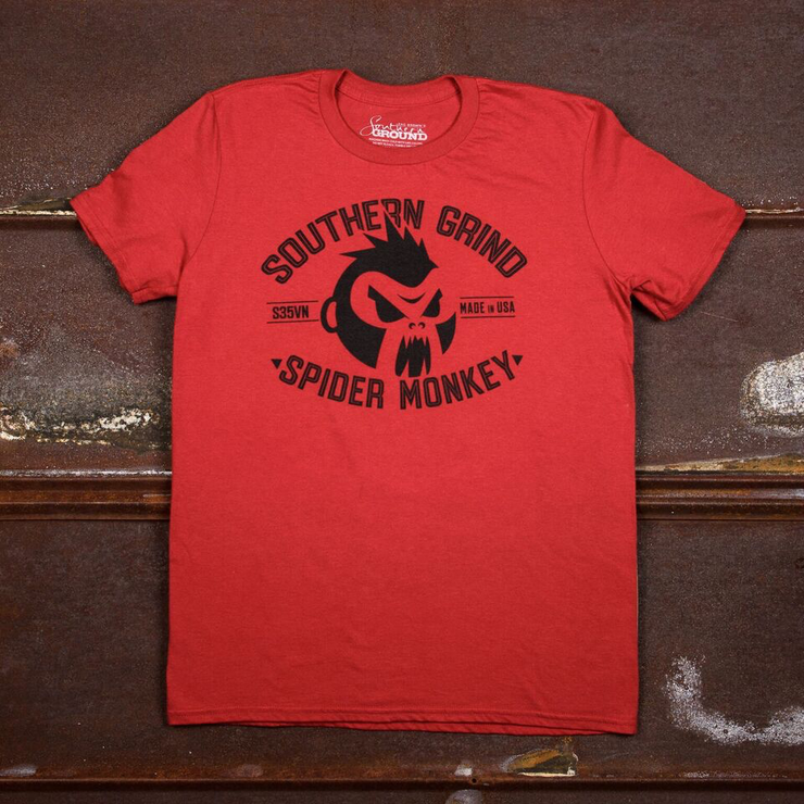 Spider Monkey Logo Tee
