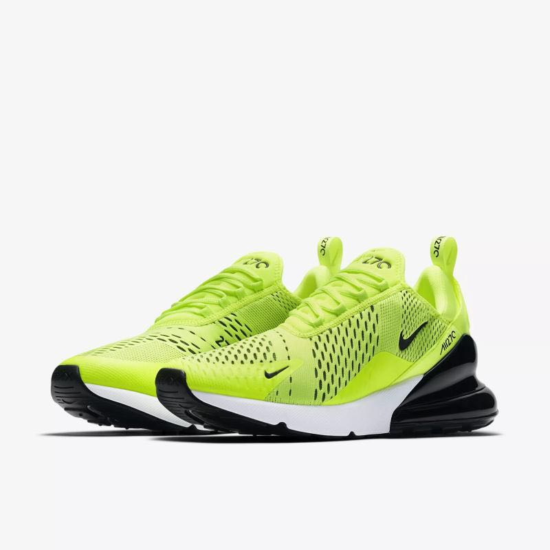 quite nice 95b32 12a3b Load image into Gallery viewer, Men Nike Air Max 270 Green Black ...