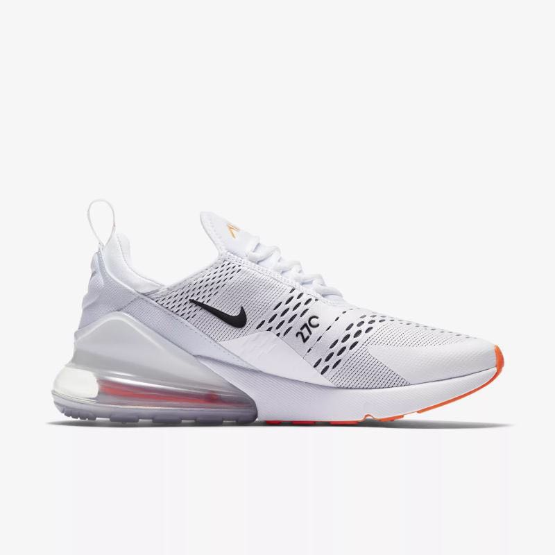 quality design b1b6d 0eda8 Nike Air Max 270 White/Orange
