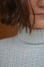 Load image into Gallery viewer, Mermaid Turtleneck in Powder Blue