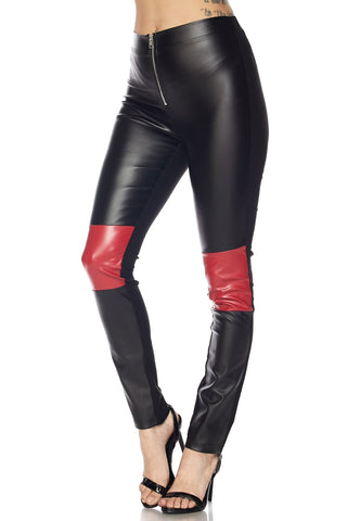 Block party leather pants in black - Kill Olivia