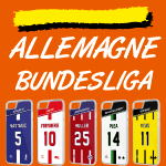 Coque foot Allemagne Bundesliga - flocage 100% personnalisable - iPhone smartphone - TEAMCOQUES