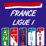 Coque foot France Ligue 1 - flocage 100% personnalisable - iPhone smartphone - TEAMCOQUES