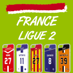 Coque foot France Ligue 2 - flocage 100% personnalisable - iPhone smartphone - TEAMCOQUES