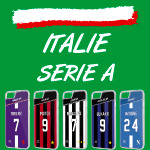 Coque foot Italie Serie A - flocage 100% personnalisable - iPhone smartphone - TEAMCOQUES
