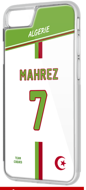 Coque foot ALGERIE - flocage 100% personnalisable - iPhone smartphone - TEAMCOQUES