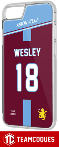 Coque foot ASTON VILLA - flocage 100% personnalisable - iPhone smartphone - TEAMCOQUES