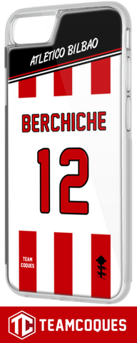 Coque foot ATLETICO BILBAO - flocage 100% personnalisable - iPhone smartphone - TEAMCOQUES