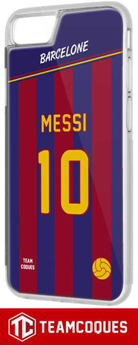 Coque foot BARCELONE - flocage 100% personnalisable - iPhone smartphone - TEAMCOQUES