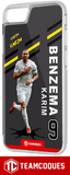 Coque foot KARIM BENZEMA REAL MADRID - flocage 100% personnalisable - iPhone smartphone - TEAMCOQUES