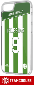 Coque foot BETIS SEVILLE - flocage 100% personnalisable - iPhone smartphone - TEAMCOQUES