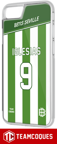Coque BETIS SEVILLE - flocage 100% personnalisable - TEAMCOQUES