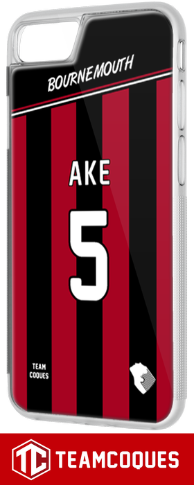 Coque foot BOURNEMOUTH - flocage 100% personnalisable - iPhone smartphone - TEAMCOQUES