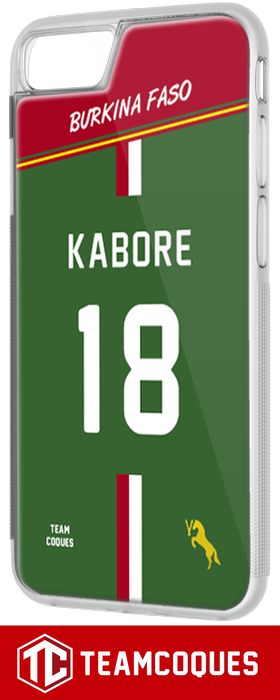 Coque foot BURKINA FASO - flocage 100% personnalisable - iPhone smartphone - TEAMCOQUES