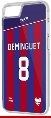 Coque foot CAEN - flocage 100% personnalisable - iPhone smartphone - TEAMCOQUES