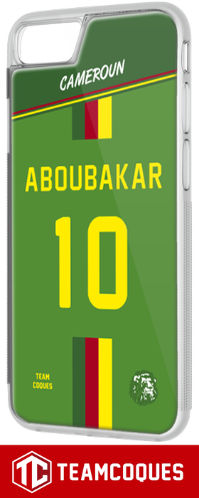 Coque foot CAMEROUN - flocage 100% personnalisable - iPhone smartphone - TEAMCOQUES