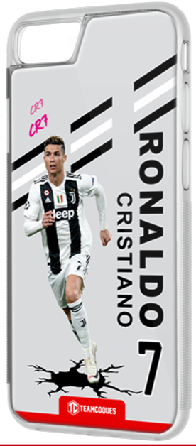 Coque foot CRISTIANO RONALDO JUVE JUVENTUS TURIN - flocage 100% personnalisable - iPhone smartphone - TEAMCOQUES