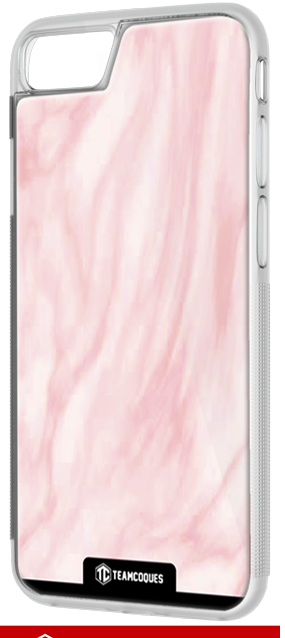 Coque design VAGUE ROSE - iPhone smartphone - TEAMCOQUES