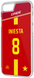 Coque foot ESPAGNE - flocage 100% personnalisable - iPhone smartphone - TEAMCOQUES