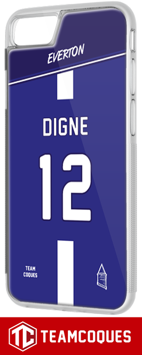 Coque foot EVERTON - flocage 100% personnalisable - iPhone smartphone - TEAMCOQUES