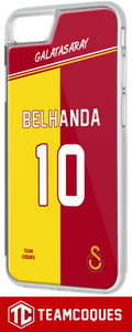 Coque foot GALATASARAY - flocage 100% personnalisable - iPhone smartphone - TEAMCOQUES