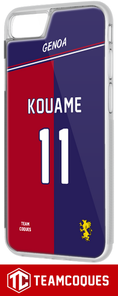 Coque GENOA - flocage 100% personnalisable - TEAMCOQUES