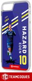 Coque foot EDEN HAZARD CHELSEA - flocage 100% personnalisable - iPhone smartphone - TEAMCOQUES