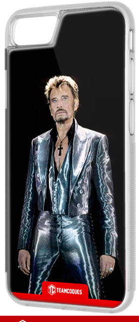 Coque design JOHNNY HALLYDAY 2 - iPhone smartphone - TEAMCOQUES
