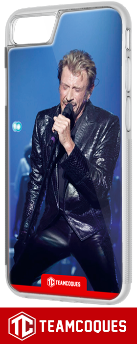 Coque design JOHNNY HALLYDAY 3 - iPhone smartphone - TEAMCOQUES