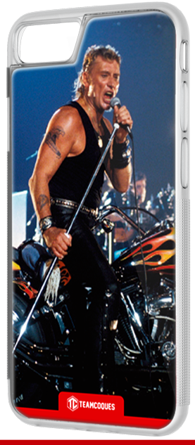 Coque design JOHNNY HALLYDAY 5 - iPhone smartphone - TEAMCOQUES