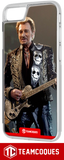 Coque design JOHNNY HALLYDAY 6 - iPhone smartphone - TEAMCOQUES