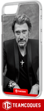 Coque design JOHNNY HALLYDAY 7 - iPhone smartphone - TEAMCOQUES