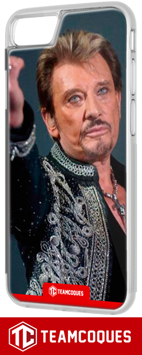 Coque design JOHNNY HALLYDAY 9 - iPhone smartphone - TEAMCOQUES