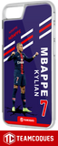 Coque foot KYLIAN MBAPPE PARIS PSG - flocage 100% personnalisable - iPhone smartphone - TEAMCOQUES