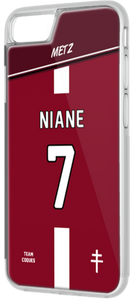 Coque foot METZ - flocage 100% personnalisable - iPhone smartphone - TEAMCOQUES