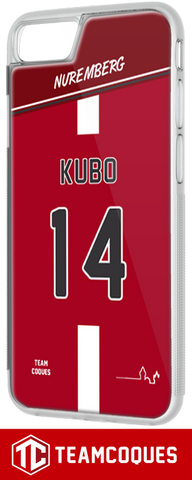 Coque foot NUREMBERG - flocage 100% personnalisable - iPhone smartphone - TEAMCOQUES